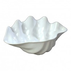 Large Salad Bowl- White Shell