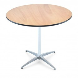 "36"" Cocktail table - the perfect complement to any party"