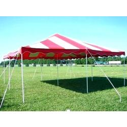 Pole Tent 20x20 Red/White