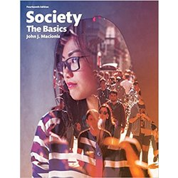 USED || MACIONIS / SOCIETY: THE BASIC 14TH ED LOOSELEAF