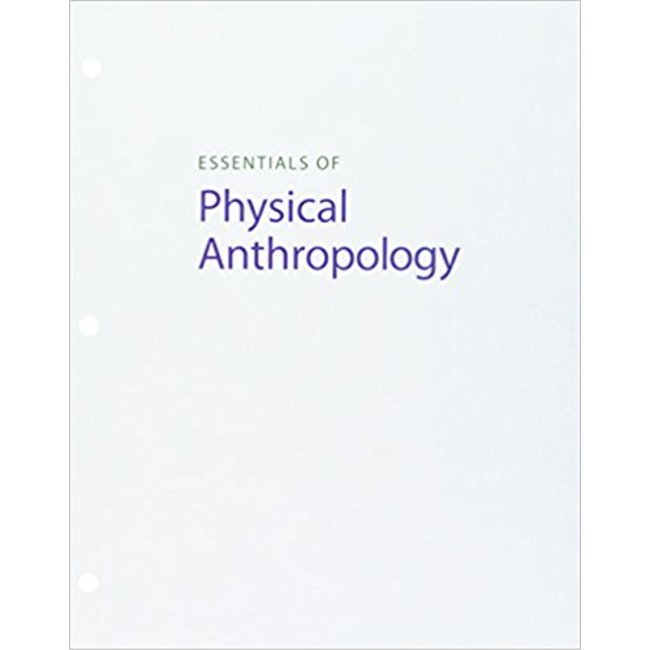 USED || JURMAIN / ESSENTIALS OF PHYSICAL ANTHROPOLOGY 10th (LOOSE-LEAF)
