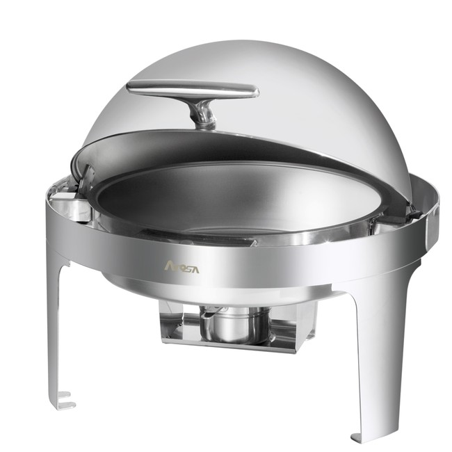 Chafing Dish- Round Roll Top