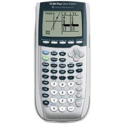 Ti-84 Graphing Calculator Silver