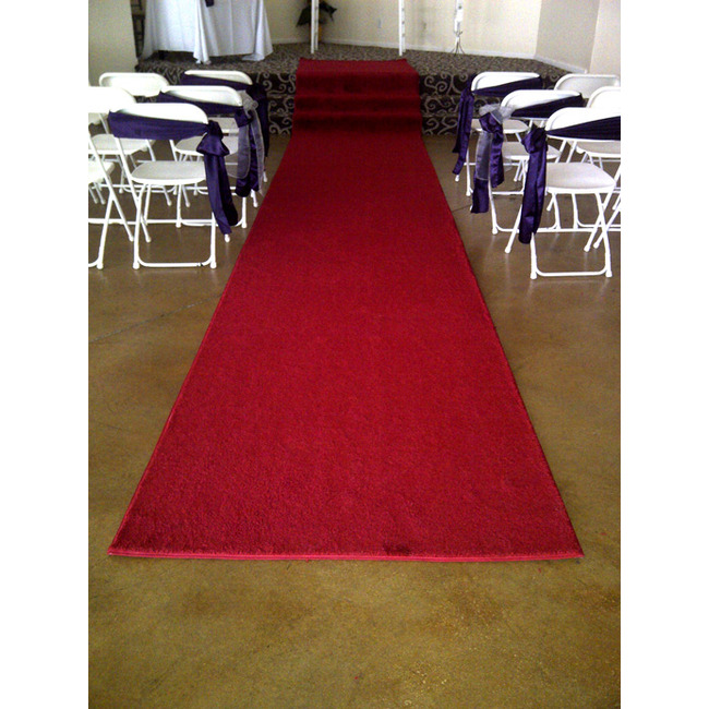 25' Red Carpet