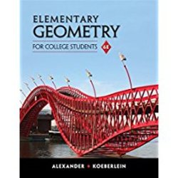 Used| ALEXANDER / ELEMENTARY GEOMETRY FOR COLLEGE STUDENTS| Instructor: HEMENWAY
