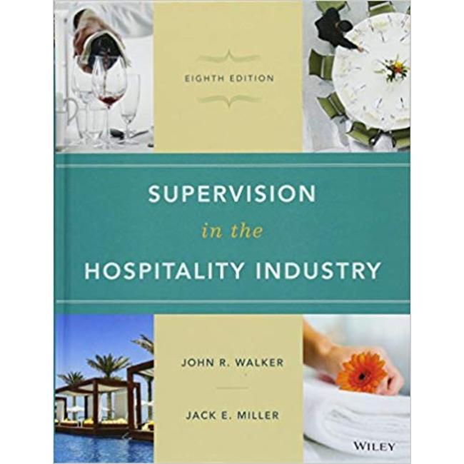 NEW || WALKER / SUPERVISION IN HOSPITALITY INDUSTRY