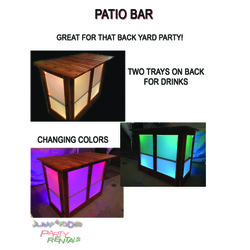 Portable Bar (with cooler)