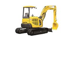 Komatsu PC55MR-3 Compact Excavator w/thumb – PC55MR-3 - Kauai, Oahu, Hilo, Kona, and Maui