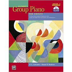 USED || LANCASTER / ALFRED'S GROUP PIANO BOOK 1
