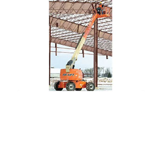 JLG 600AJ Boom Lift, 60' articulating boom, and comparable models