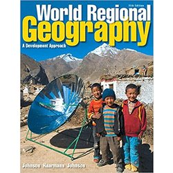 USED || JOHNSON / WORLD REG GEOG (PAPER-BOUND)
