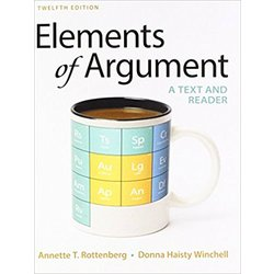 NEW || ROTTENBERG / ELEMENTS OF ARGUMENT (12th)