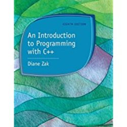 Used| ZAK / INTRO TO PROGRAMMING W/C++| Instructor: LIU