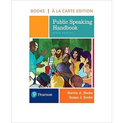 USED || BEEBE / PUBLIC SPEAKING HANDBOOK