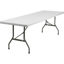 8' X 30'' White Rectangle (Seats 8-10)