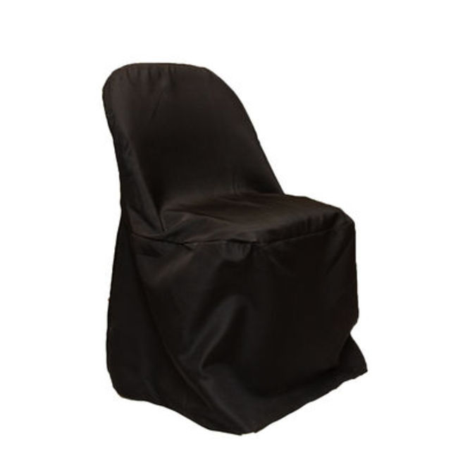 Black Fitted Chair Covers- Samsonnite Chair