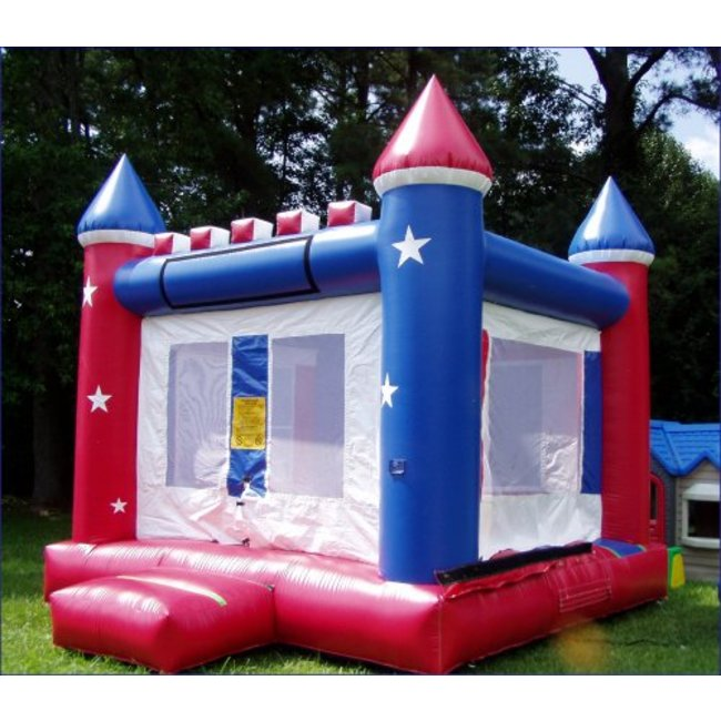 13' x 13' Red, White, and Blue Bouncer
