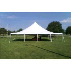 Pole Tent 40x40 White