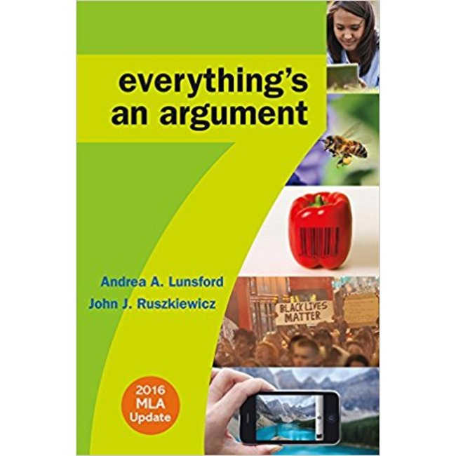 USED    LUNSFORD / EVERYTHING'S AN ARGUMENT 7th