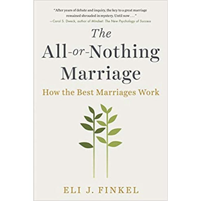 NEW || FINKEL / ALL OR NOTHING MARRIAGE