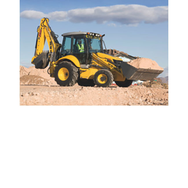 New Holland B95 Backhoe, 4WD ST