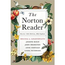 NEW || GOLDWAITE / NORTON READER SHORTER (14th)