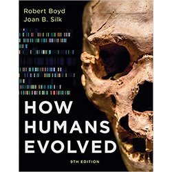 BOYD / HOW HUMANS EVOLVED 9th (LL)