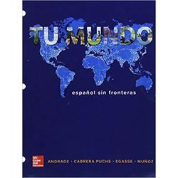 USED || ANDRADE-V2 / TU MUNDO TEXT & WORKBOOK-VOL 2 (2nd)