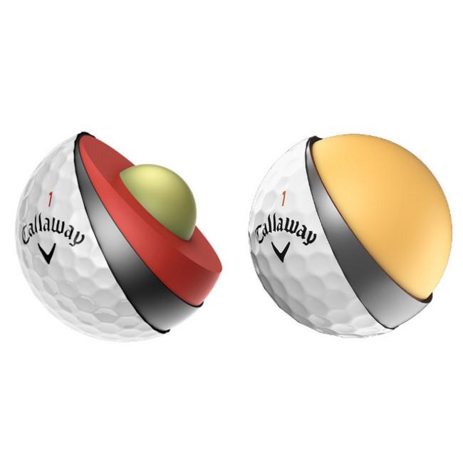 Callaway Superhot 55 Golf Balls (Sleeve of 3 balls)
