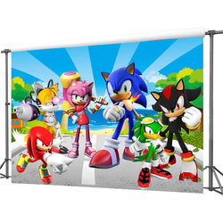 7x5ft Sonic Backdrop