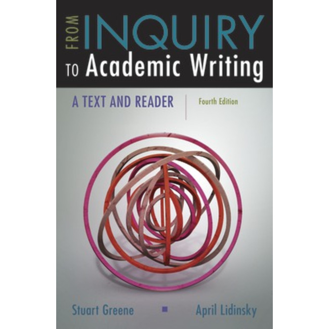 [DAMAGED] USED    GREENE / FROM INQUIRY TO ACADEMIC WRITING (4th)