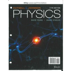 USED || YOUNG / CUTNELL & JOHNSON PHYSICS COMPL (V-1 & 2) 11th