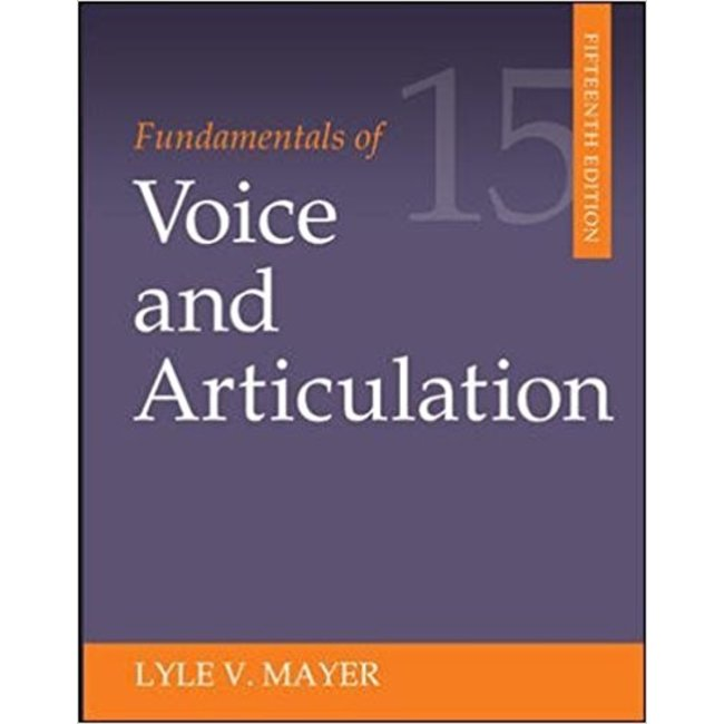 [DAMAGED] || MAYER / FUNDAMENTALS OF VOICE & ARTICULATION