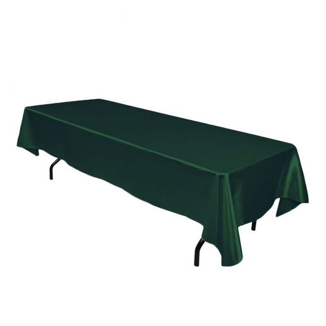 60x126 Polyester Tablecloth- 4 colors
