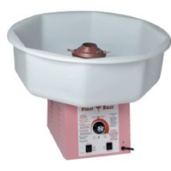 Cotton Candy Machine with 50 servings and 2 Picnic Tables