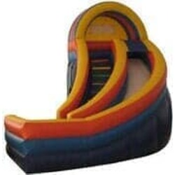 24ft Curved Slide (DRY)