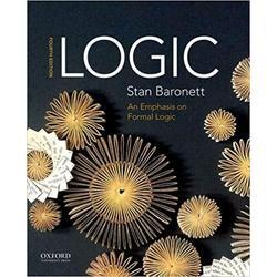 NEW    BARONETT / LOGIC: EMPHASIS ON FORMAL LOGIC