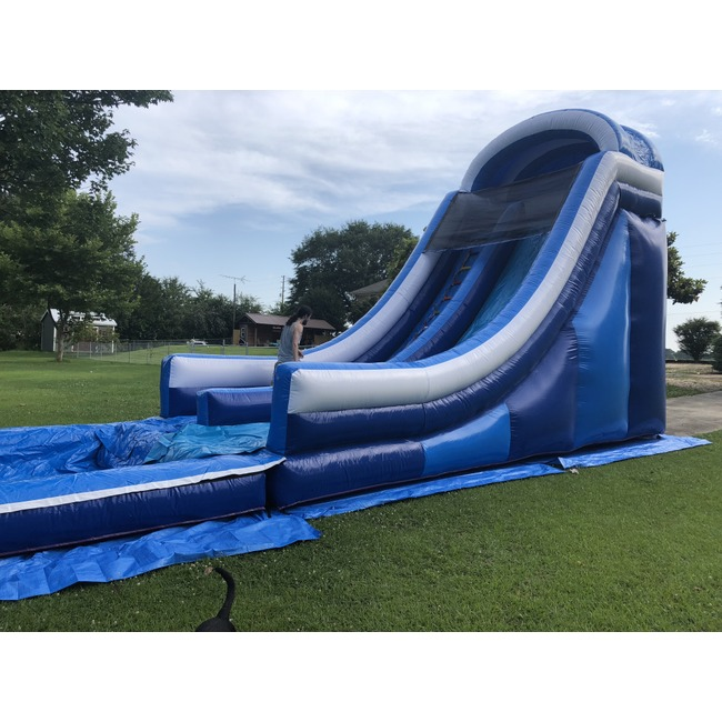 Riverside Party Rentals - 20' Commercial Water Slide With Pool