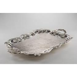 Tray, Rectangular Silver