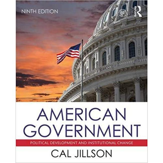 NEW    JILLSON / AMERICAN GOVERNMENT (9th)