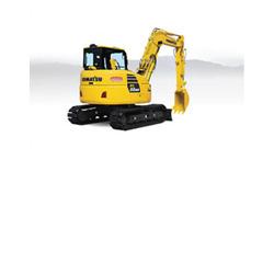 Komatsu PC88MR-10 Compact Excavator w/thumb - NPK hydraulic hammer - Kauai