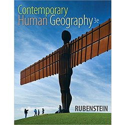 USED || RUBENSTEIN / CONTEMPORARY HUMAN GEOG PA (3RD ED)