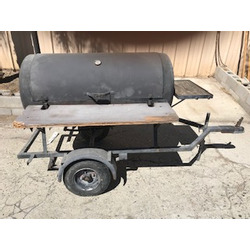 BBQ GRILL 5 FT. CHARCOAL (TOWABLE)