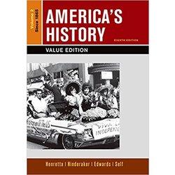 NEW || HENRETTA / AMERICA'S HISTORY VALUE ED VOL TWO SINCE 1865