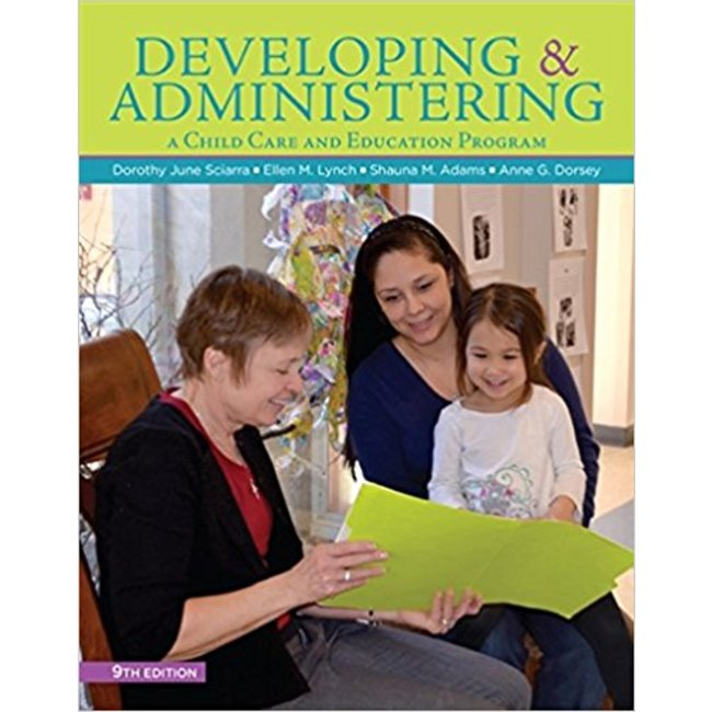 USED || SCIARRA / DEVELOPING & ADMINISTERING CHILD CARE & EDUCATION PROG