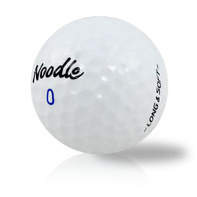Taylormade Noodle Long and Soft Golf Balls (Sleeve of 3 Balls)