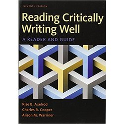 NEW || AXELROD / READING CRITICALLY, WRITING WELL (11th ed)