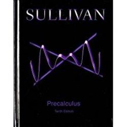 USED || SULLIVAN / PRECALCULUS (HB) *no code*