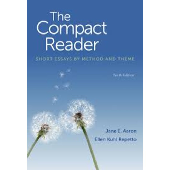 NEW| AARON/ THE COMPACT READER: SHORT ESSAYS BY METHOD & THEME 10TH