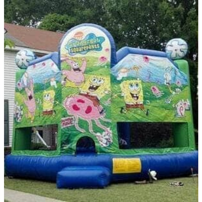 18' x 18' Spongebob Bouncer